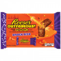 REESE'S OUTRAGEOUS CHOCOLATE PEANUT BUTTER BARS FUN SIZE