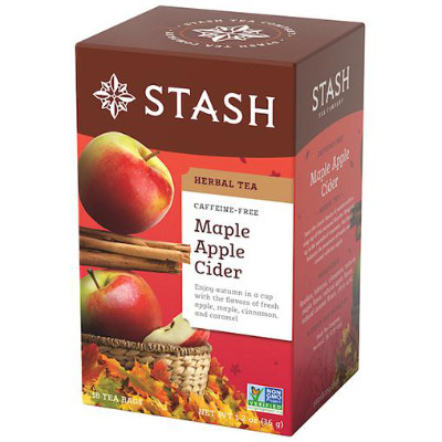 STASH TEA MAPLE APPLE CIDER HERBAL TEA