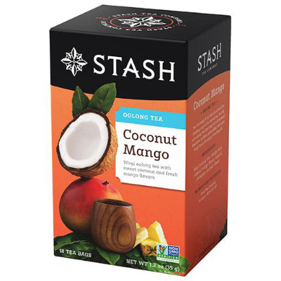 STASH TEA COCONUT MANGO WUYI OOLONG TEA