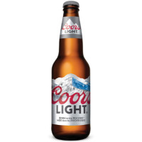 COORS LIGHT BEER - BOTTLE