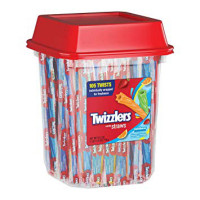 TWIZZLER RAINBOW TWITS CANISTER (105)