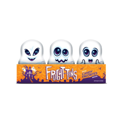 BEE CANDIES FRIGHT TIN AIRHEADS SMARTIES MIKE & IKE