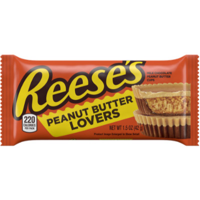REESE'S PEANUT BUTTER LOVERS CUPS