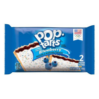 KELLOGG'S POP TARTS FROSTED BLUEBERRY - 2 TOASTER PASTRIES