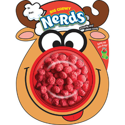 BIG CHEWY NERDS REINDEER