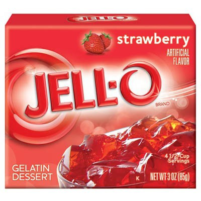 JELLO STRAWBERRY