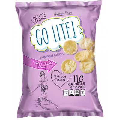GO LITE! SWEET MAUI ONION POPPED CHIPS