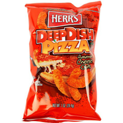 HERR'S DEEP DISH PIZZA CHEESE CURL