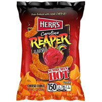 HERR'S CHIPS AU PIMENT CAROLINA REAPER FROMAGE