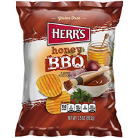DÉSTOCKAGE - HERR'S CHIPS MIEL BARBECUE
