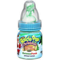TOPPS BABY BOTTLE POP CHRISTMAS CANDY