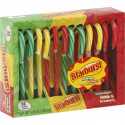 STARBUST ASSORTED FRUIT CANDY CANES