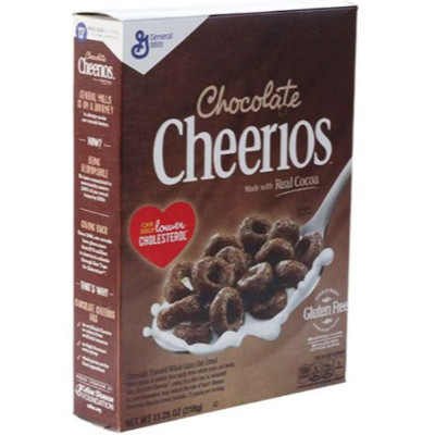 CHEERIOS CHOCOLATE CEREALS