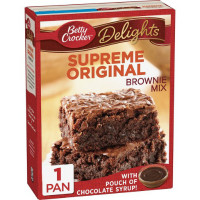 BETTY CROCKER PRÉPARATION BROWNIE COULIS CHOCO