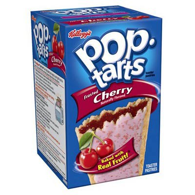 KELLOGG'S POP TARTS FROSTED CHERRY