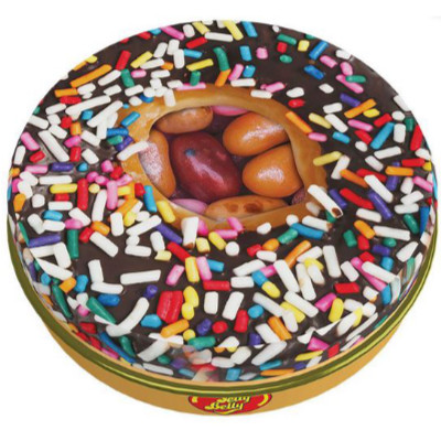 JELLY BELLY BEANS DONUTS CANDY TIN