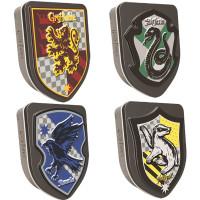 HARRY POTTER HOUSES OF HOGWARTS CRESTS CANDY TIN