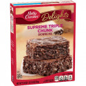 BETTY CROCKER PRÉPARATION BROWNIE TRIPLE CHOCO HERSHEY'S