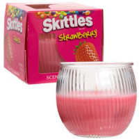 STRAWBERRY SKITTLES CANDLE