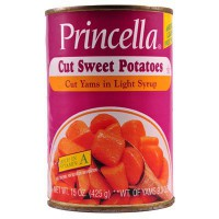 PRINCELLA CUT YAMS - SWEET POTATOES