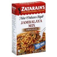 ZATARAIN'S RICE JAMBALAYA MIX