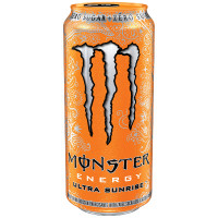 MONSTER ENERGY ULTRA SUNRISE ENERGY DRINK