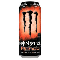 MONSTER ENERGY REHAB PEACH BOISSON ÉNERGISANTE