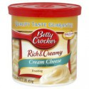 BETTY CROCKER FROSTING CREAM CHEESE