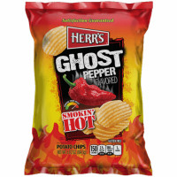 HERR'S CHIPS GHOST PEPPER PIMIENTO BHUT JOLOKIA
