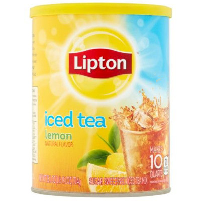 LIPTON ICED TEA MIX SWEET LEMON