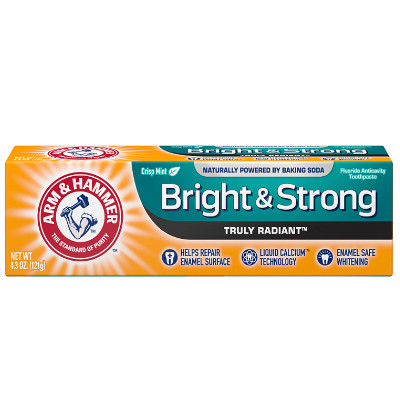 ARM & HAMMER TRULY RADIANT BRIGHT & STRONG TOOTHPASTE