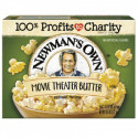 NEWMAN'S OWN POPCORN MANTEQUILLA AL MICROONDAS