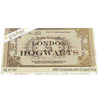 HARRY POTTER HOGWARTS TICKET EXPRESS CHOCOLATE