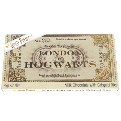 CLEARANCE - HARRY POTTER HOGWARTS TICKET EXPRESS CHOCOLATE