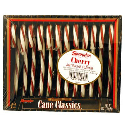 CANDY CANES CHERRY 12-stick box