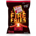 SLIM JIM INFERNO FIRE FRIES BISCUITS APERITIF FRITES EPICEES