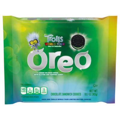 OREO TROLLS WORLD TOUR CHOCOLATE OREOS