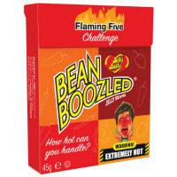 JELLY BELLY BEANBOOZLED FLAMING FIVE CARAMELOS PICANTES CAJA