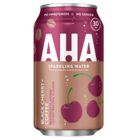 AHA BLACK CHERRY COFFEE SPARKLING WATER