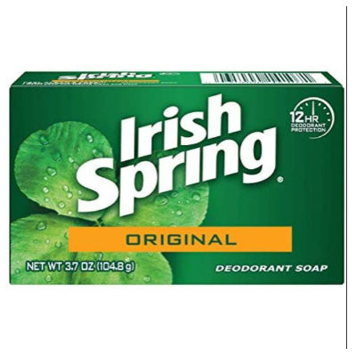 IRISH SPRING ORIGINAL DEODORANT BAR SOAP