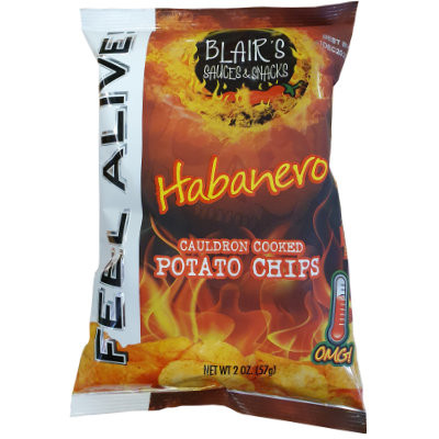 BLAIR'S DEATH RAIN HABANERO CHIPS