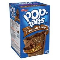 KELLOGG'S POP TARTS FROSTED CHOCOLATE FUDGE