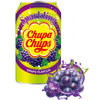 CHUPA CHUPS SPARKLING GRAPE SODA