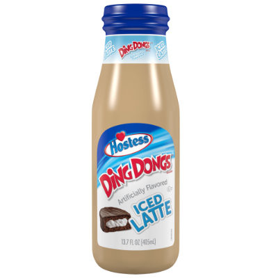 HOSTESS DING DONGS ICED LATTE