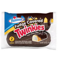 HOSTESS FUDGE COVORED TWINKIES