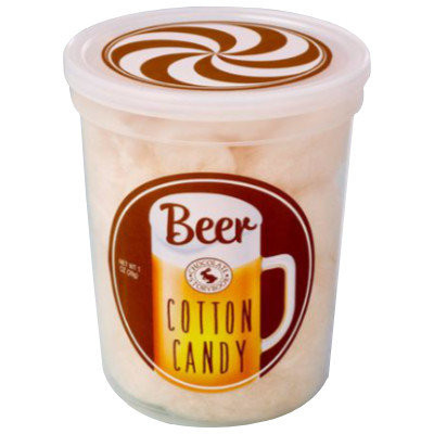 CLEARANCE - CHOCOLATE STORYBOOK BEER COTTON CANDY TUB (ALCOHOL FREE)
