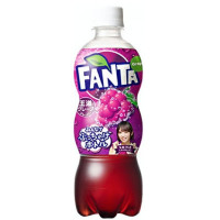 GRAPE FANTA JAPANESE BOTTLE