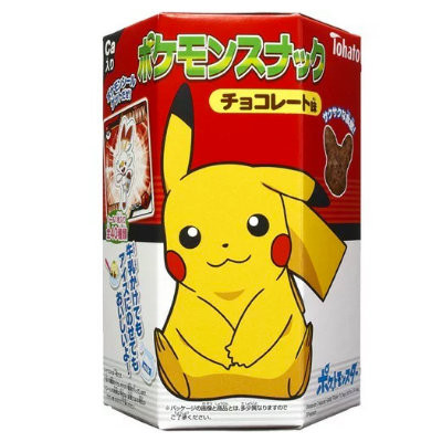TOHATO POKEMON SNACK CHOCOLATE PUFFS