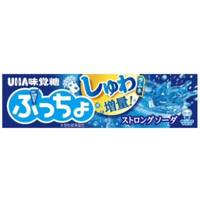 CLEARANCE - UHA PUCCHO STRONG SODA CHEWY CANDY