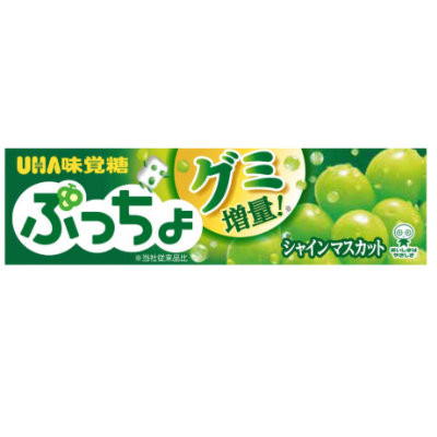 UHA PUCCHO SHINE MUSCAT CHEWY CANDY